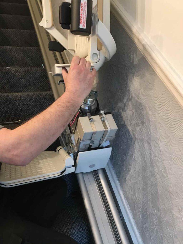 Emergency stairlift repair