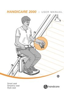 Handicare 2000 Stairlift Manual