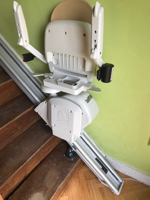 Straight Stairlift Installation 1